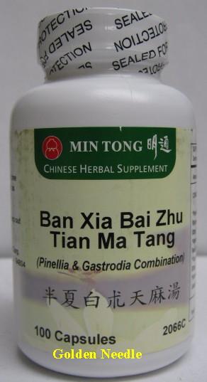 Ban Xia Bai Zhu Tian Ma Capsules
