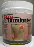 Pain Terminator Far Infrared Analgesic Cream, 500 gm